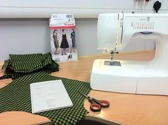 dressmaking progress