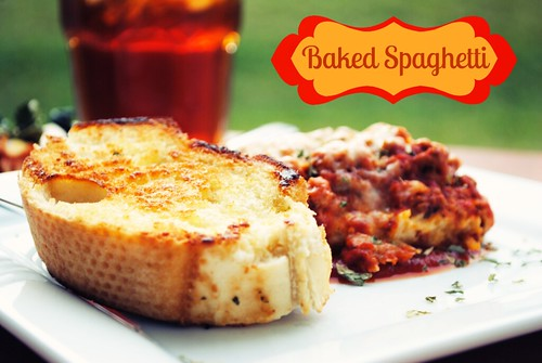 Baked Spaghetti| Licious Food