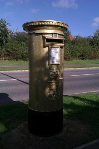 Olympic Postbox, Ingleby Barwick