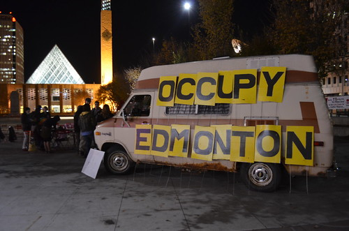 Occupy Edmonton First Anniversary