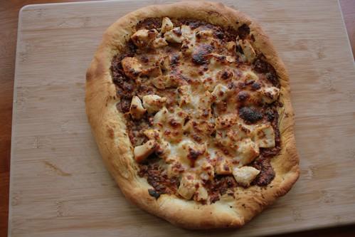 2012 07 Sundried Tomato Pesto with Chicken Pizza