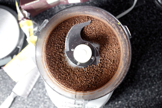 grinding instead of grating chocolate next time