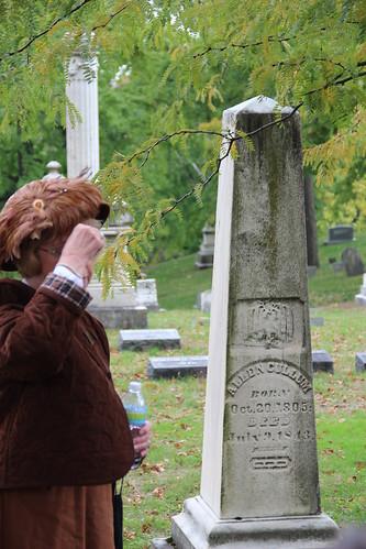 Allen Cullum tombstone