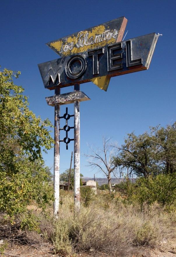 Los Alamitos Motel - Grants, New Mexico U.S.A. - October 2, 2012