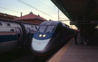 20020215 12 Amtrak Acela, Wilmington, DE