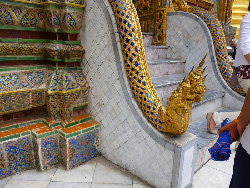 Hydra at Bangkok's Grand Palace