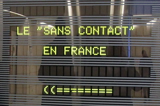Colloque sur le sans contact à Bercy