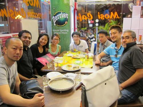 Singapore Meetup Dinner
