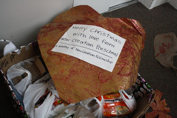 homeless shelter donation