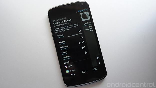 carbon para android