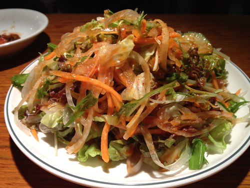 チョレギサラダ@韓国食堂 ジョッパルゲ