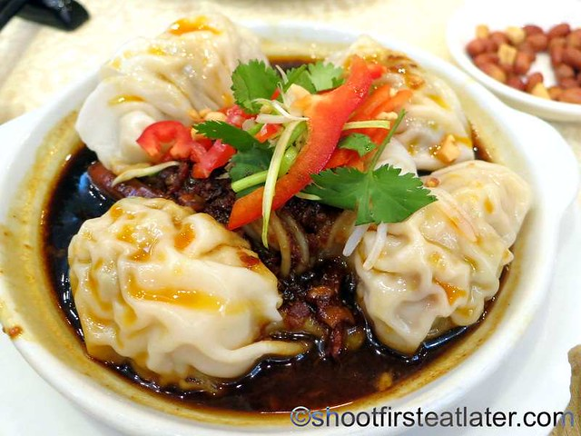 Shanghai wonton in chili & sour sauce HK$28