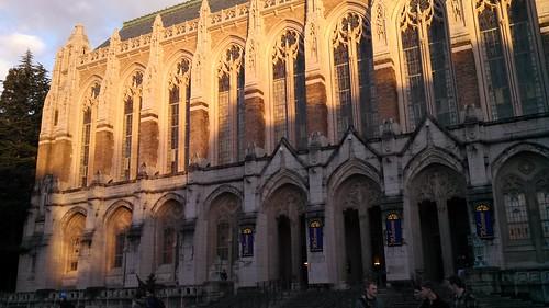 Suzzallo Library at the University of Washington by Shana L. McDanold