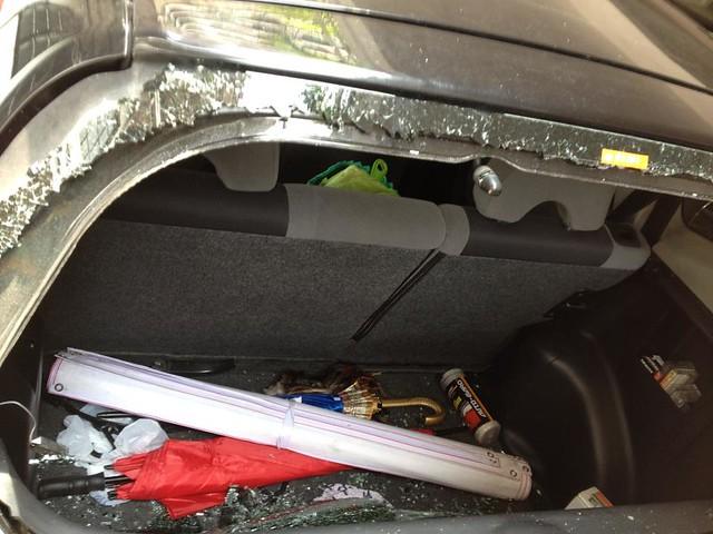 Carlos Celdran's car