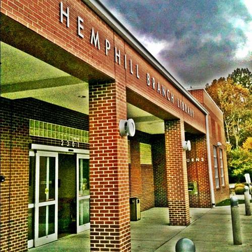 Hemphill Library by Greensboro NC