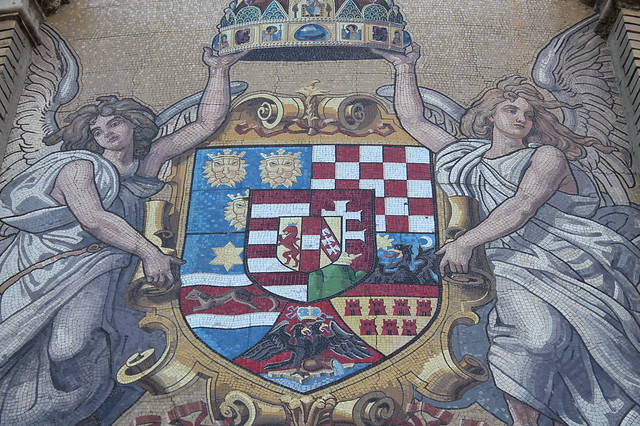 Mosaic in Budapest