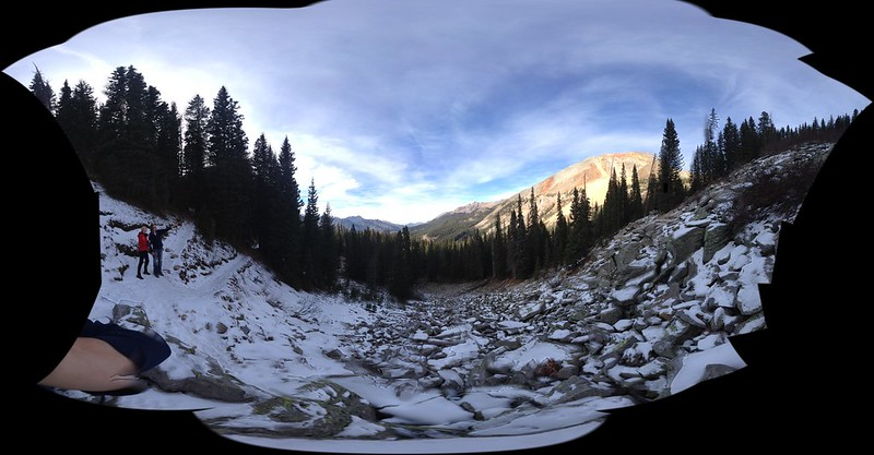 Hiking to Hope Lake, the sunset view was amazing...