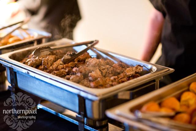 Hart Community Center Dinner Buffet Food