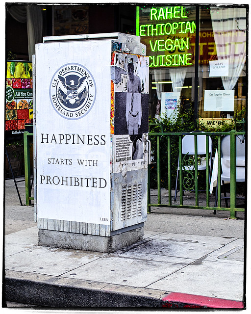 Happiness Starts With Prohibited