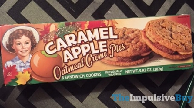 Little Debbie Caramel Apple Oatmeal Cream Pies