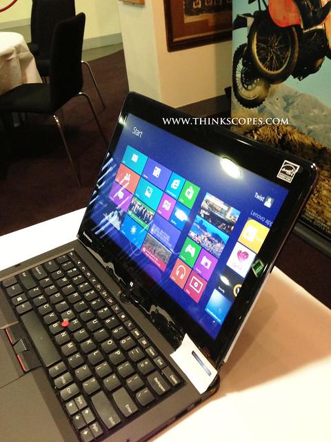 Lenovo ThinkPad Twist Edge IPS LCD