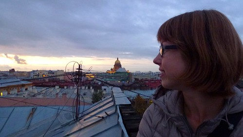Rooftops of St Petersburg