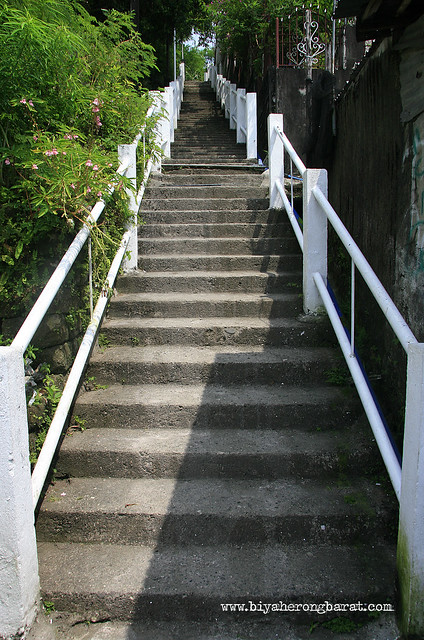 stairs to Kalbaryo Binangonan