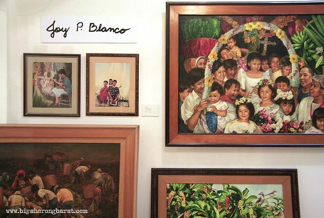 santacruzan and paintings of gay blanco