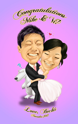 mike + vi wedding