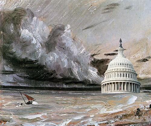 DC Emerges from Frankenstorm