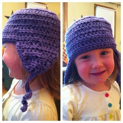 #hat is done! #crochet