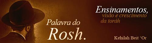 Palavra do Rosh Ya'akov Benlev