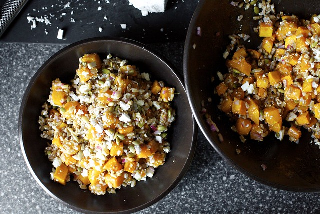 a big october grain salad