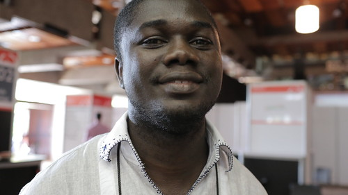 Emmanuel Addai (Co-Founder, Farmerline) at DEMO Africa 2012