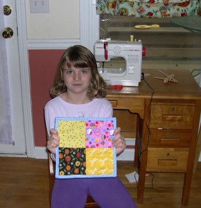 Bloomer's First Quilt