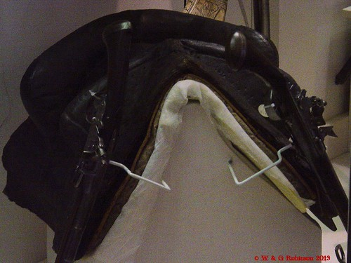 English Dragoon Saddle, mid 17th century