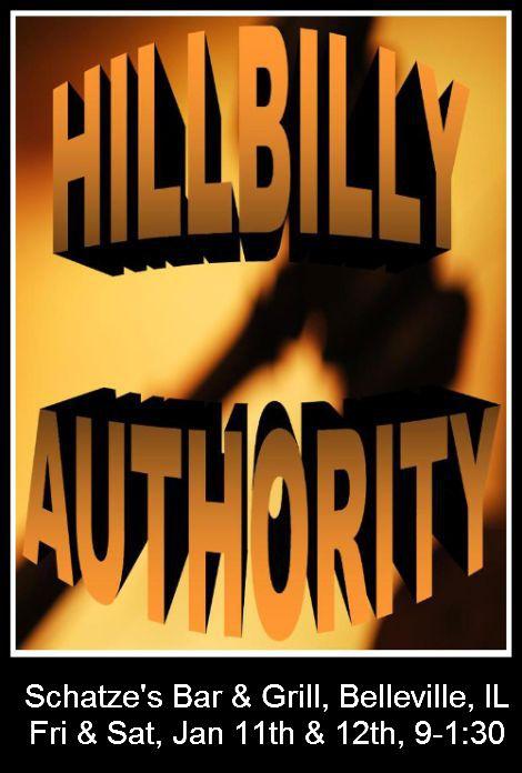 Hillbilly Authority 1-11/1-12-13