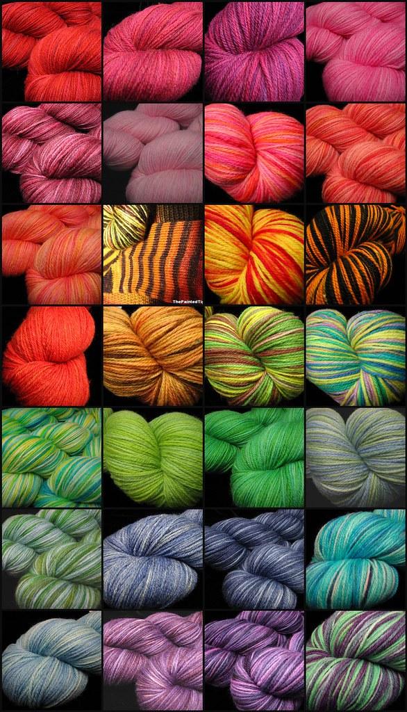Sock Yarn Update, October 2012