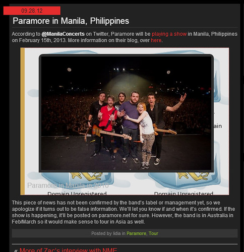 Paramore in PH Feb 2013