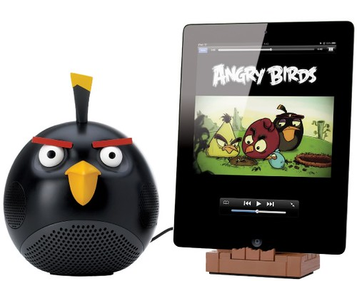 Angry Birds Speaker Black Bird