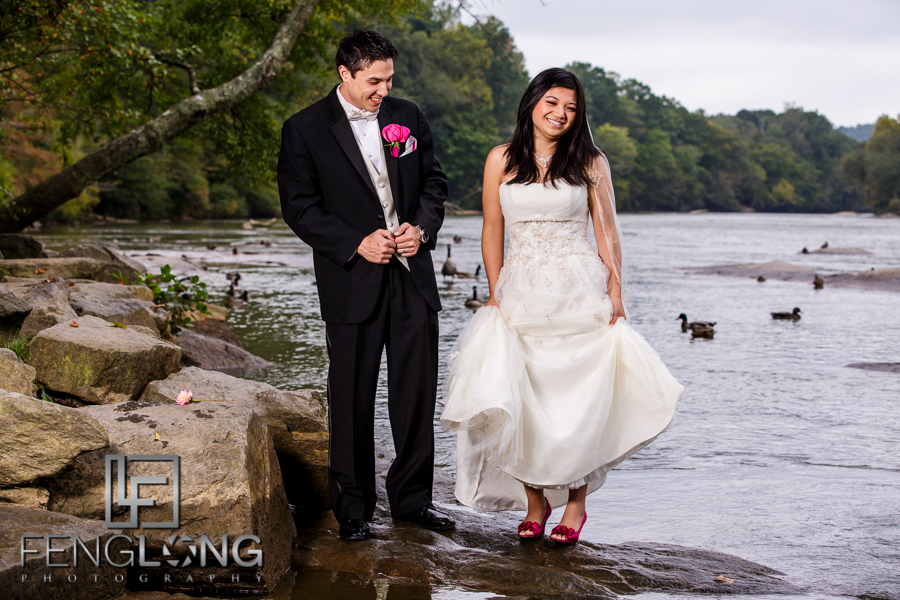 Amy & Michael's Day-After Bridal Shoot | Jones Bridge Park | Atlanta Chinese Korean Wedding Photographer