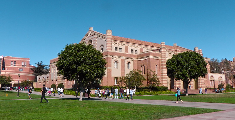 Going at UCLA for my Physics class