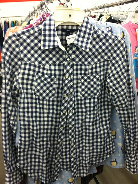halloween costume thrift cowgirl shirt