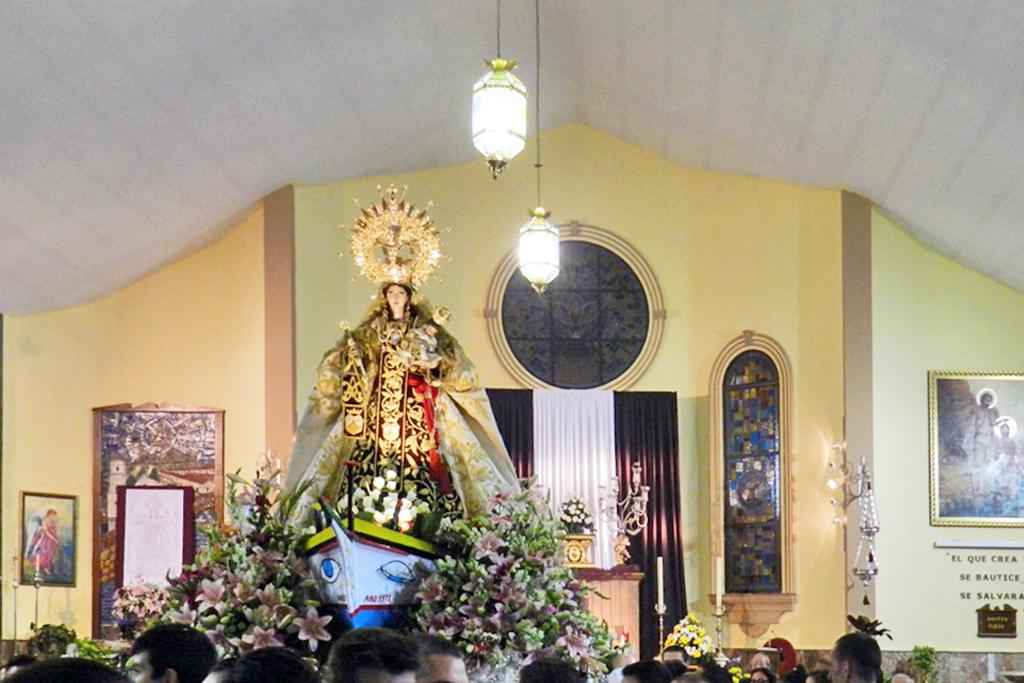 Procesión de la Virgen del Carmen 2012 Fuengirola Málaga 28