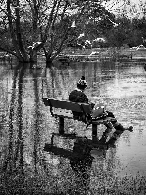 I always sit here!