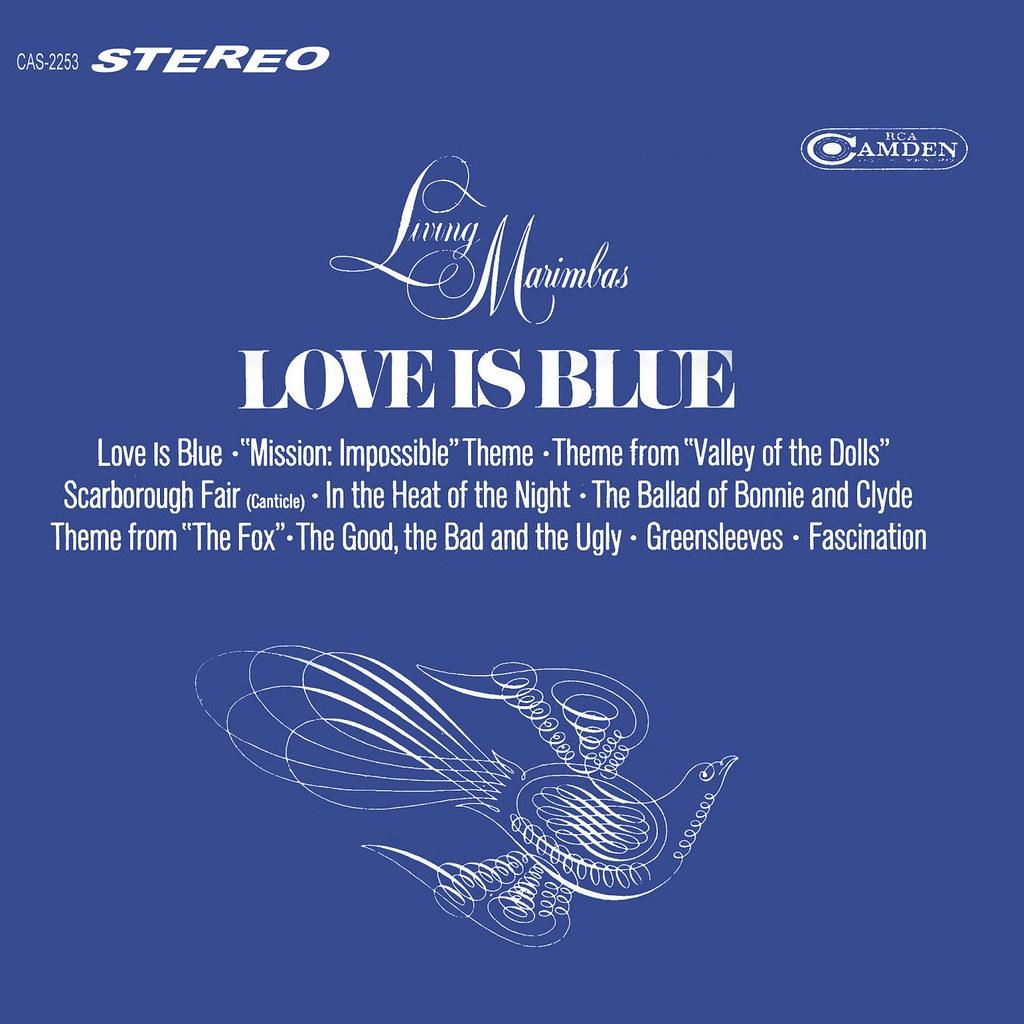 Living Marimbas - Love Is Blue