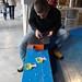 Trabajo con la maleta en el Medialab-Prado 3