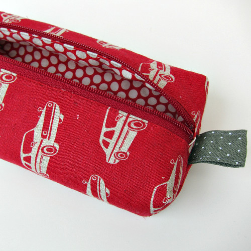 My Red Car pouch
