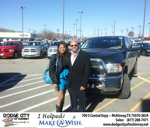 Congratulations to Ray Walker on the 2012 Dodge 2500CC by Dodge City McKinney Texas
