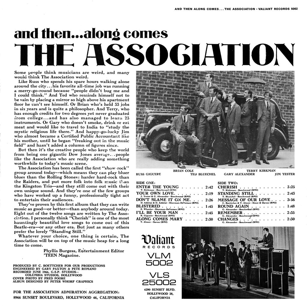 The Association - And Then... Along Comes the Association